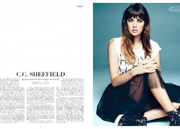 CCSheffield - Press Flaunt Magazine 2